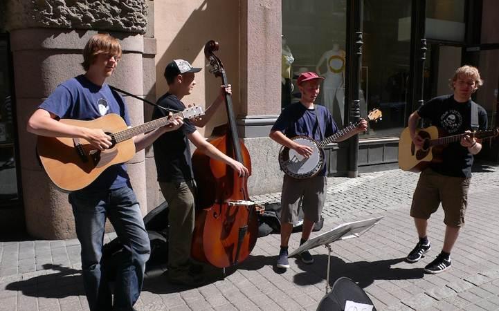 В центре Киева пройдет день уличной музыки