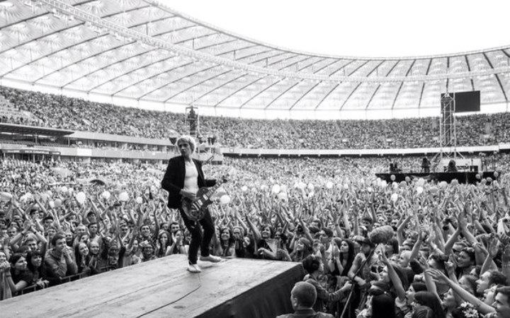 Фото с концерта группы «Океан Ельзи» 21 июня 2014