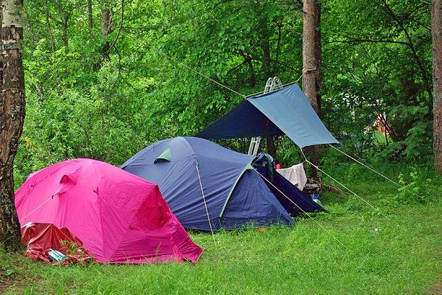 Отдых с палатками