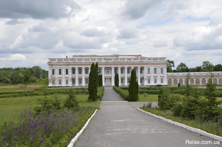 Тульчин дворец Потоцких