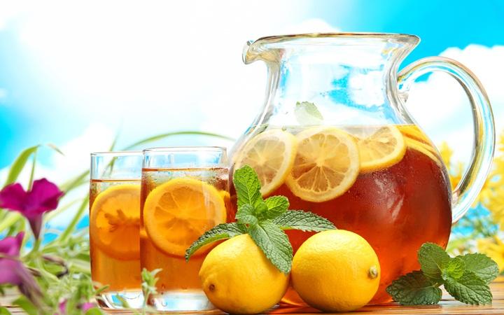 Как приготовить холодный чай