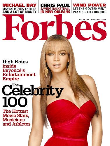"""Журнал """"Forbes"""" назвал самых знаменитых представителей шоу-бизнеса"""