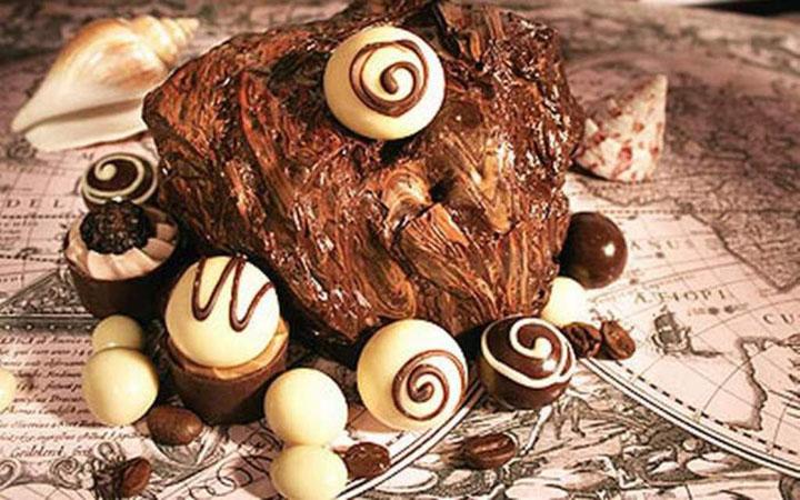 Шоколад. Сладости. Еда