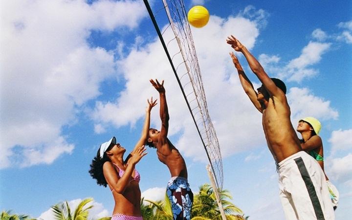 Где в Киеве поиграть в пляжный волейбол