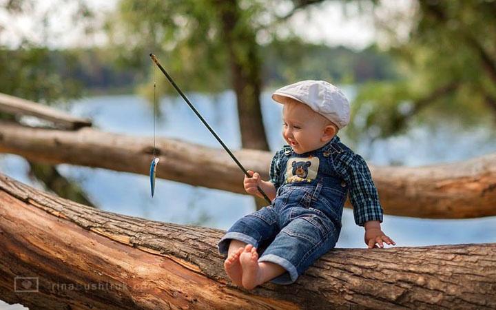 Детей с днем рыбака