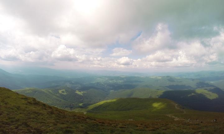 Панорама на Говерле