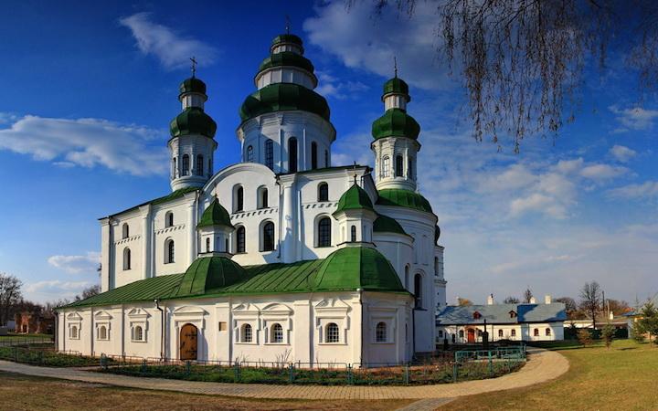 Монастырь на Черниговщине