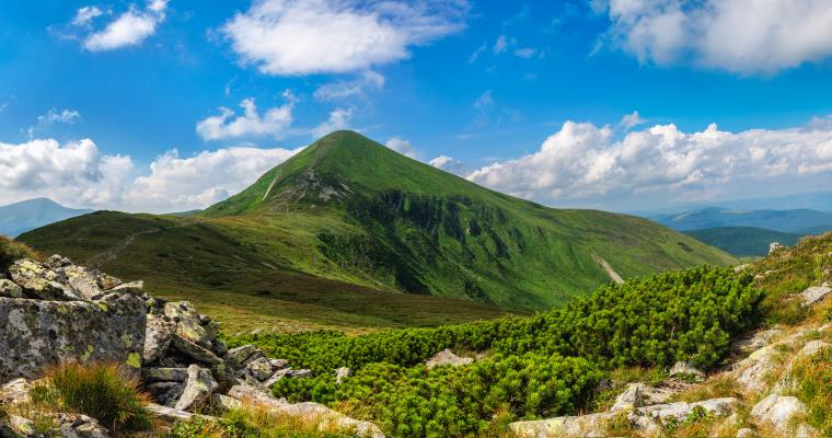 Тур по Украине: Восхождение на Говерлу