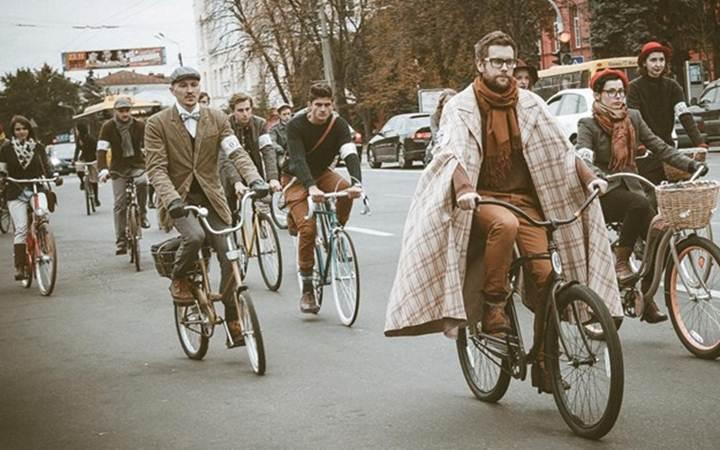 Ретро-велопарад