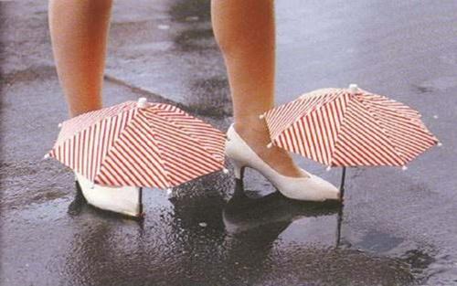Зонтики для обуви
