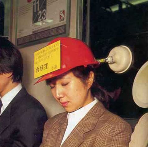 Крепление для сна в метро