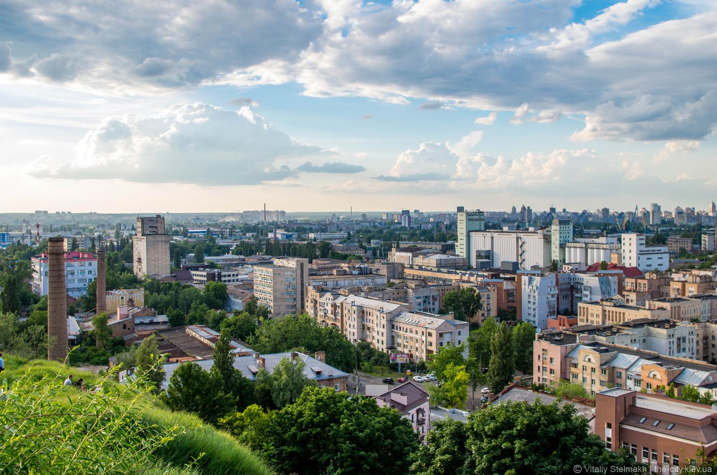 Побывать на смотровых и обзорных площадках Киева