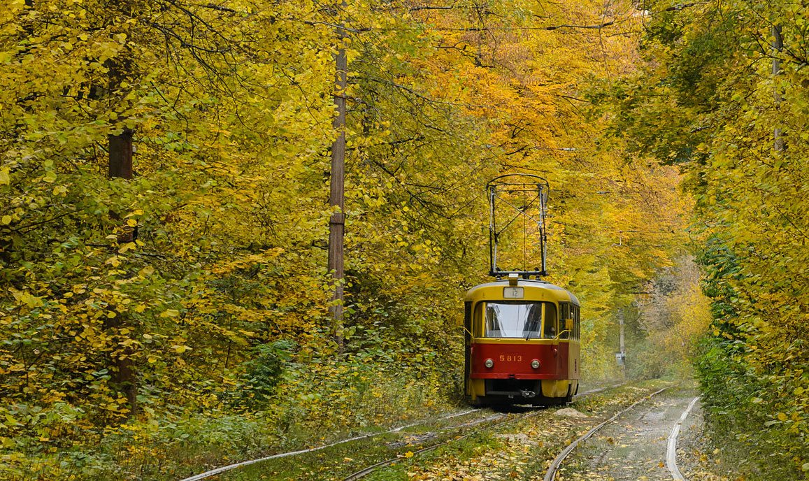 Съездить в Пущу-Водицу на трамвае №12