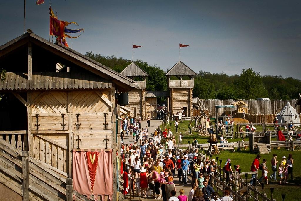Посетить парк «Киевская Русь»
