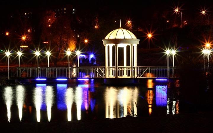 Мост любви, Запорожье
