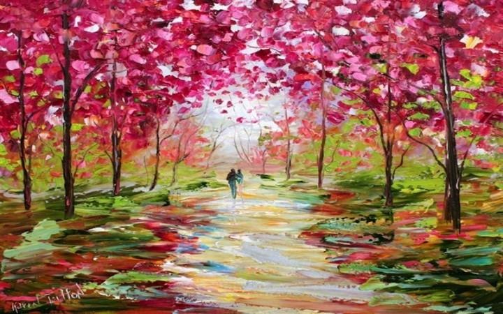 романтика прогулка