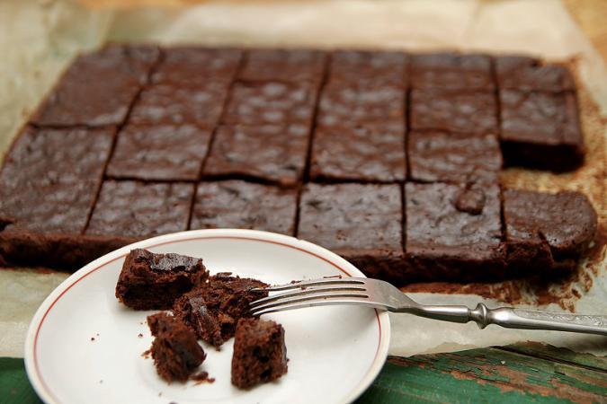 Шоколадный брауни классический рецепт с пошагово