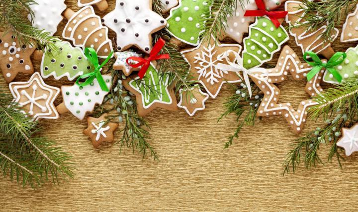 Как приготовить новогоднее печенье