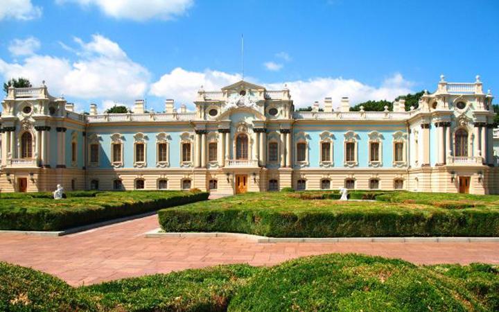 Мариинский дворец. Киев