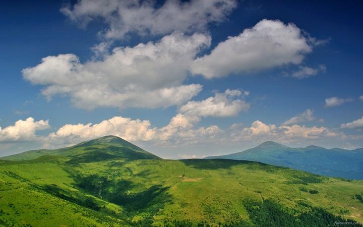 Головокружительная панорама Говерлы