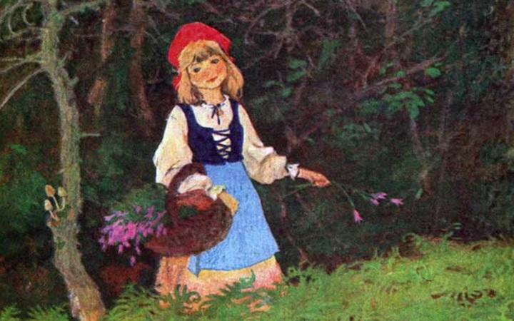 Красная шапочка в лесу фото фото 725-482