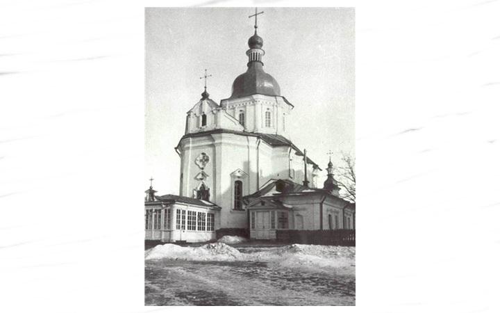 Разрушенные храмы Киева