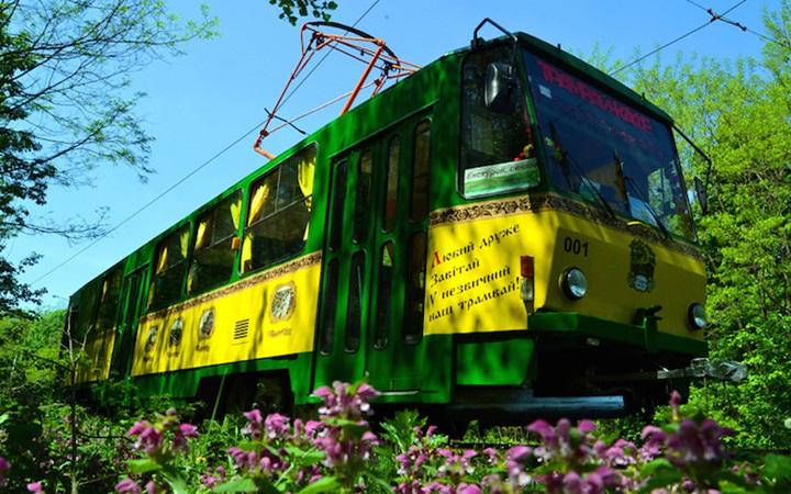 Экскурсии по Киеву на трамвае