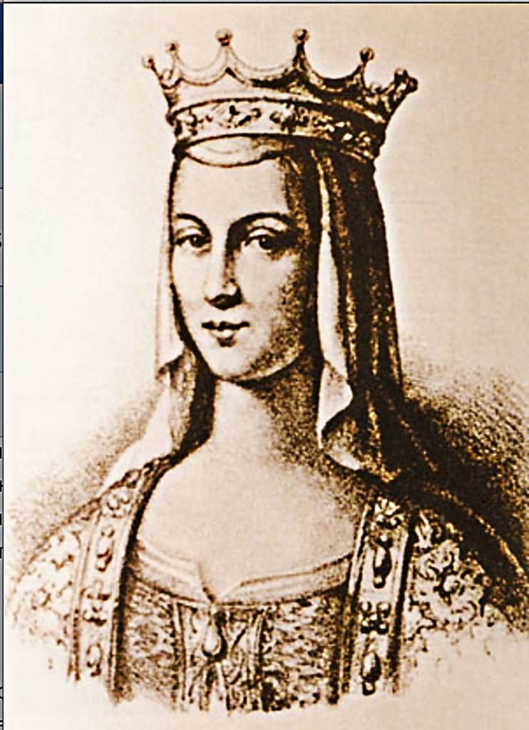 Киевская княжна Анна Ярославна, королева Франции