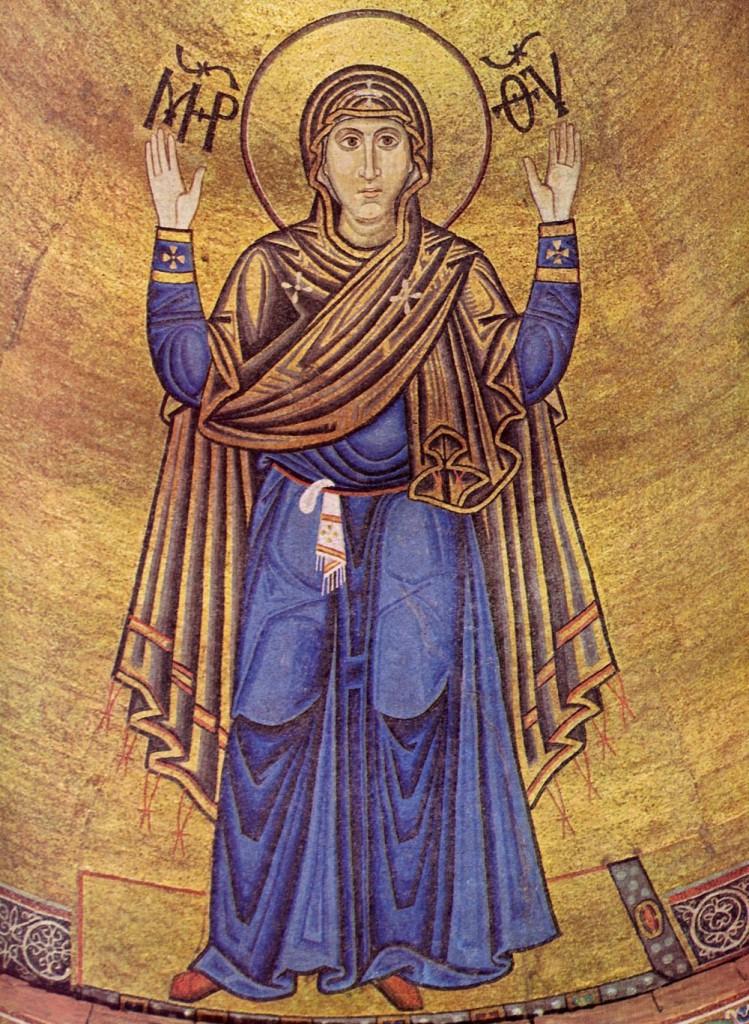 Оранта Софии Киевской - шедевральный пример места женщины в культуре Киевской Руси