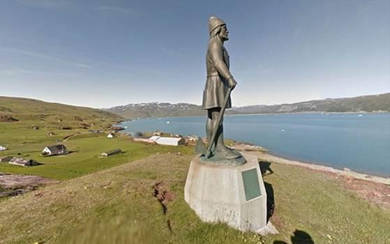 Статуя Лейфа Эрикссона