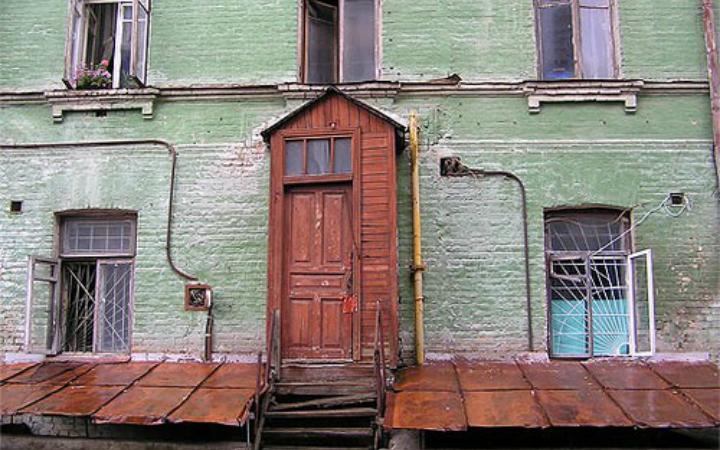 Киевские дворики