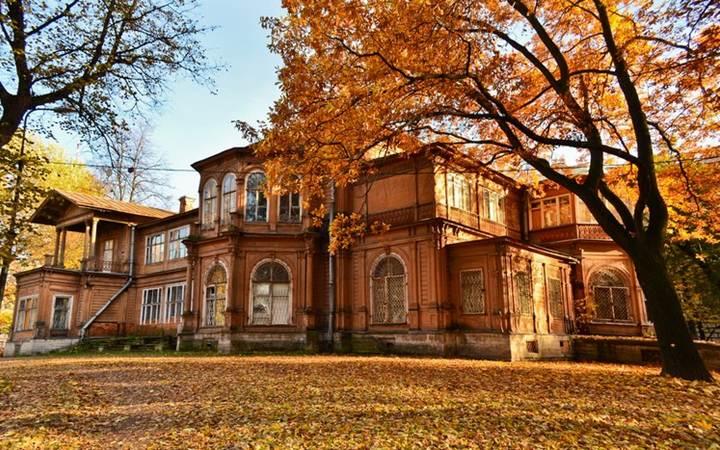 Лопухинский сад и дом Громова