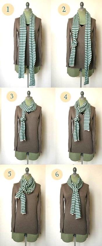 Способ 8 – «Элегантный галстук»