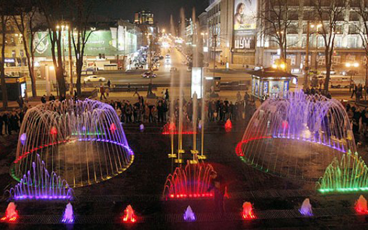Фонтаны Киева