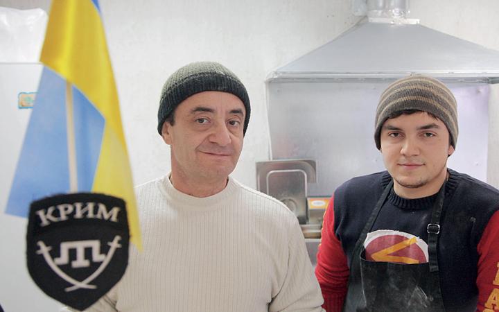 Переселенцы предлагают киевлянам проникнуться колоритом национальной кухни
