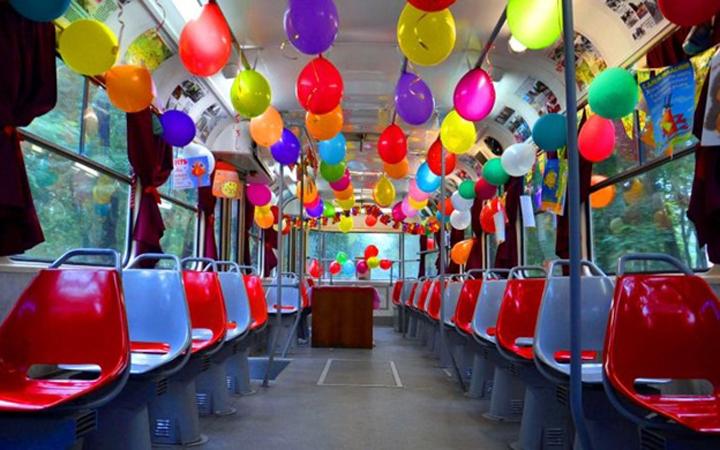 На Подоле появится Сказочный трамвай
