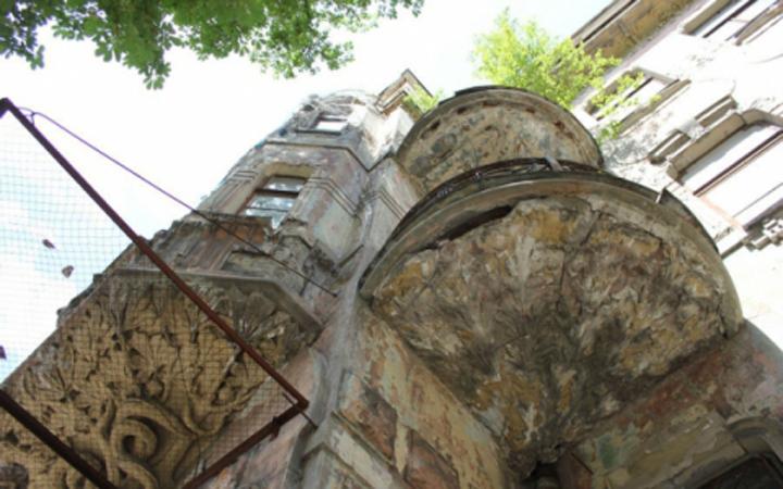 Дом со змеями и каштанами Киев