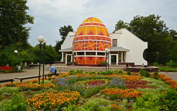 Одно из сокровищ Западной Украины – Музей писанки в Коломые