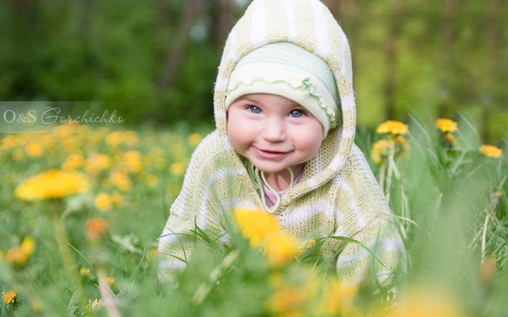 фотосет ребенок природа