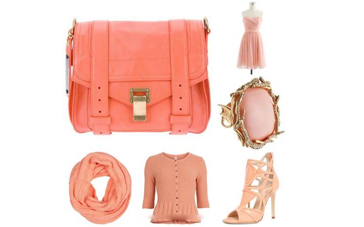 Коралловый цвет мода
