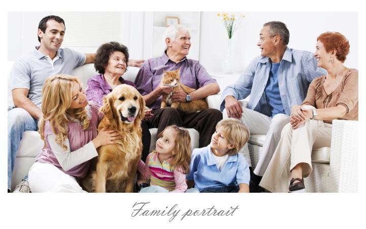 Семья. Семейный портрет