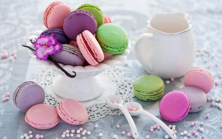 Макарун с чаем