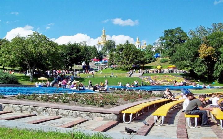 Певчее поле. Киев.