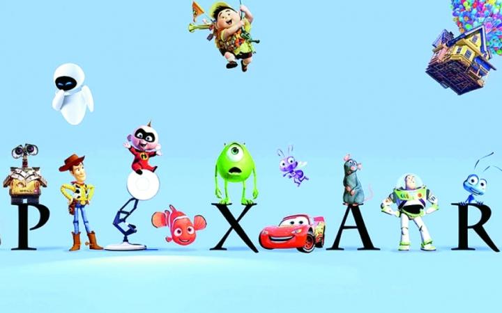 Всеми любимая студия Pixar