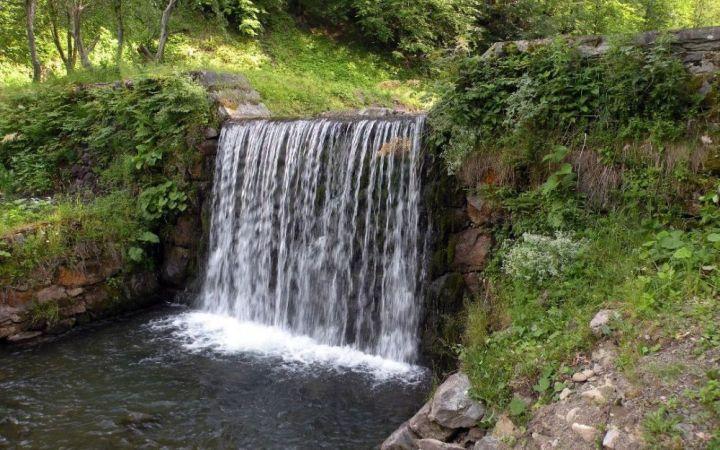 Водопады Усть-Черной