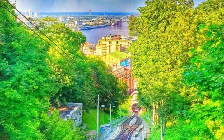 Выходной в Киеве летом