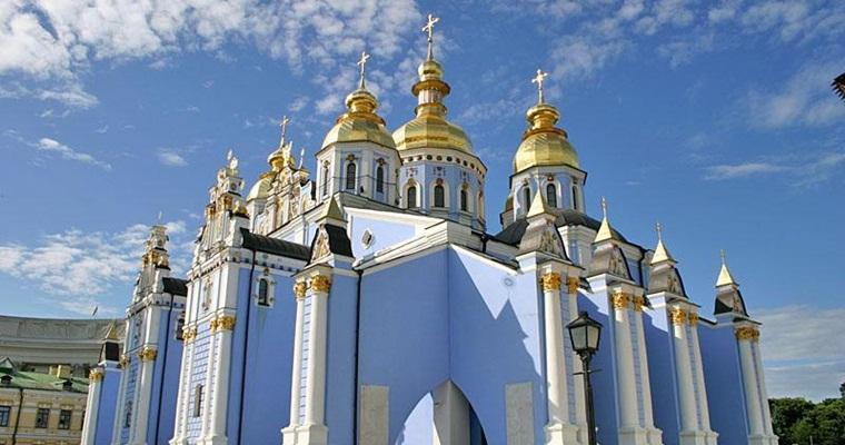 Михайловский Златоверхий монастырь, собор Архангела Михаила