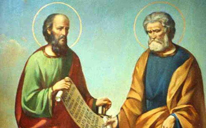 Икона святых Петра и Павла