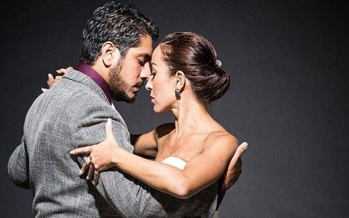 Танго Андрес Лаза Морено и Лучиана Аррегуи