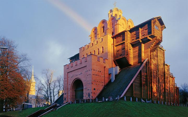 Золотые ворота. Киев. Достопримечательности